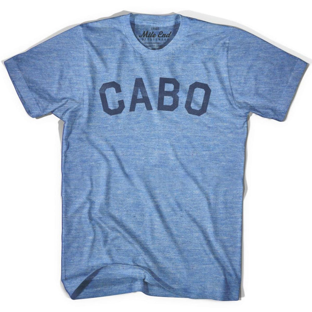 Cabo City Vintage T-shirt - Athletic Blue / Adult X-Small - Mile End City