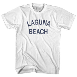 California Laguna Beach Adult Cotton Vintage T-shirt by Ultras