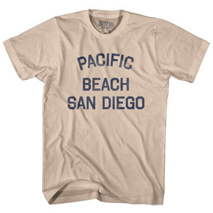 California Pacific Beach, San Diego Adult Cotton Vintage T-shirt by Ultras