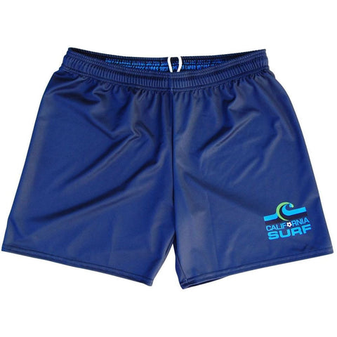 California Surf NASL Ultras Soccer Shorts - Navy / Youth X-Small / No - Soccer Shorts