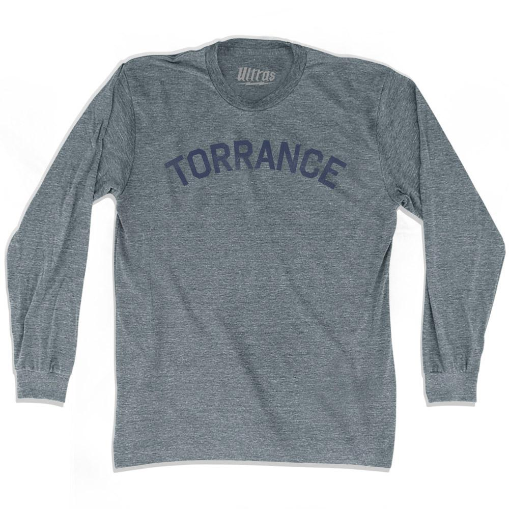 California Torrance Adult Tri-Blend Long Sleeve Vintage T-shirt by Ultras