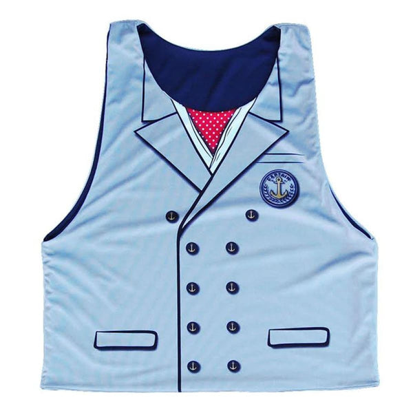 Captain Sublimated Lacrosse Pinnie - Graphic Lacrosse Pinnies