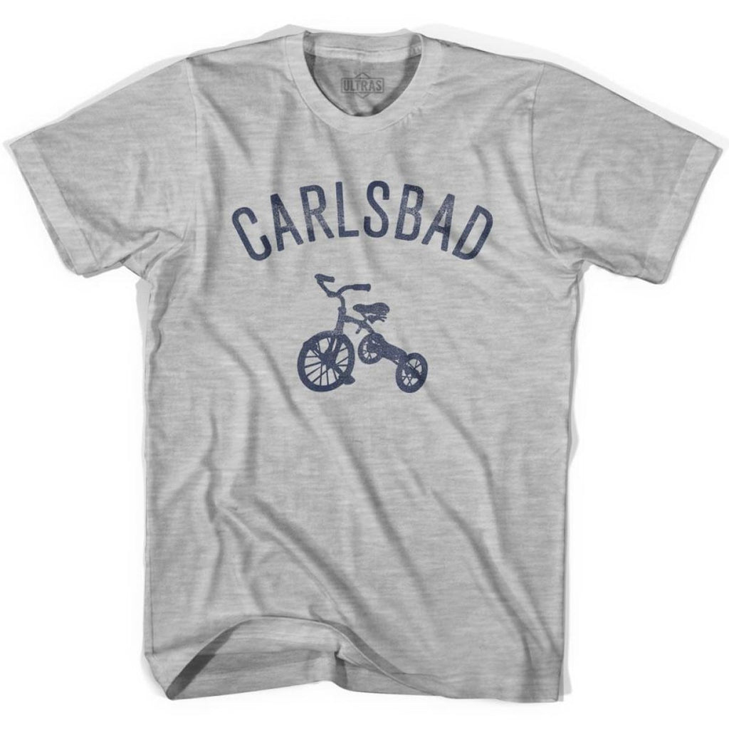 Carlsbad City Tricycle Womens Cotton T-shirt - Tricycle City