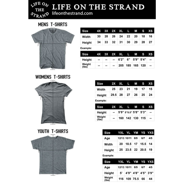 Catalina Anchor Life on the Strand V-neck T-shirt - Life on the Strand Anchor