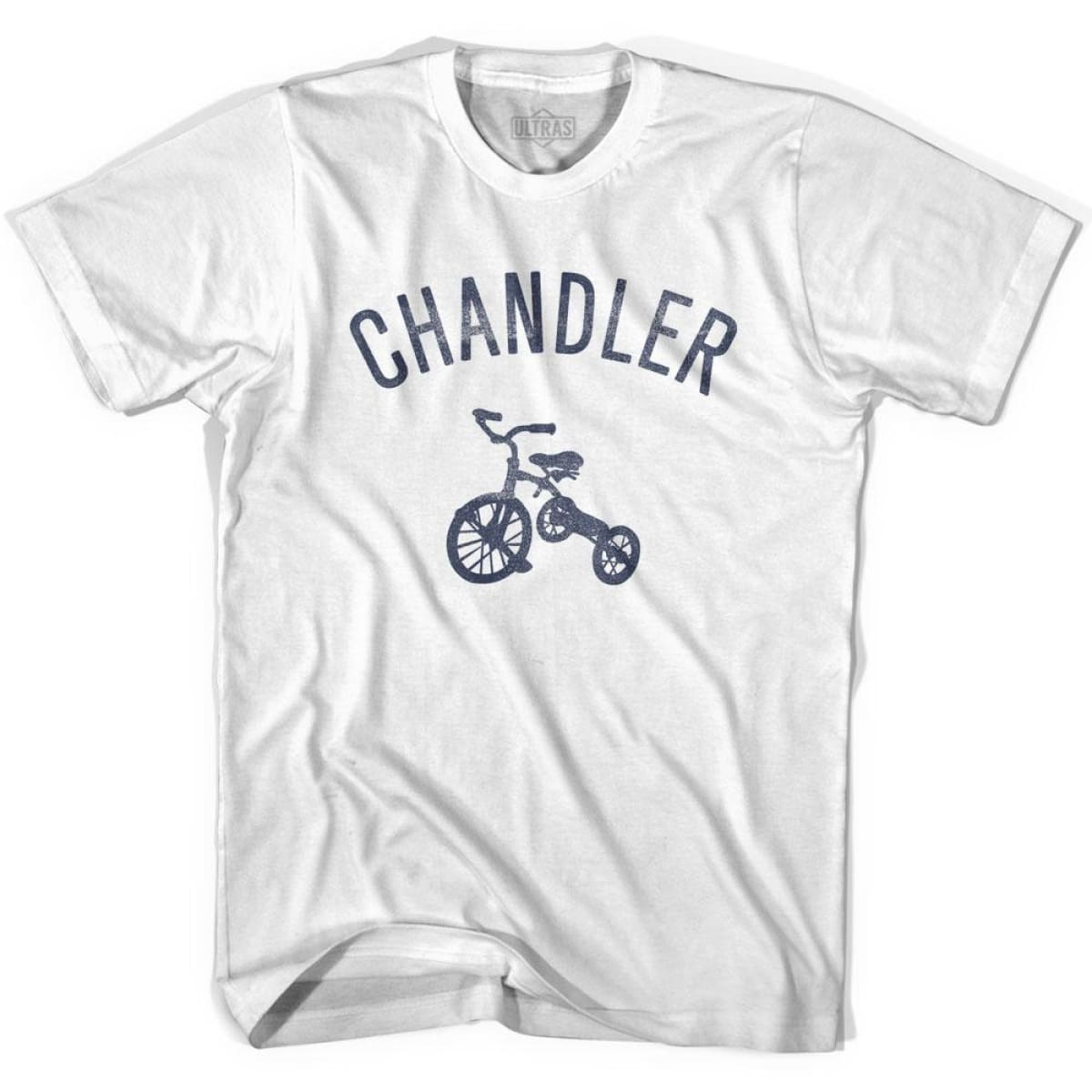 Chandler City Tricycle Womens Cotton T-shirt - Tricycle City