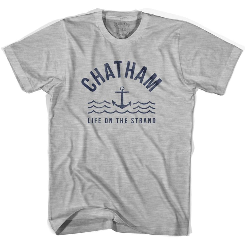 Chatham Anchor Life on the Strand T-shirt - Grey Heather / Youth X-Small - Life on the Strand Anchor