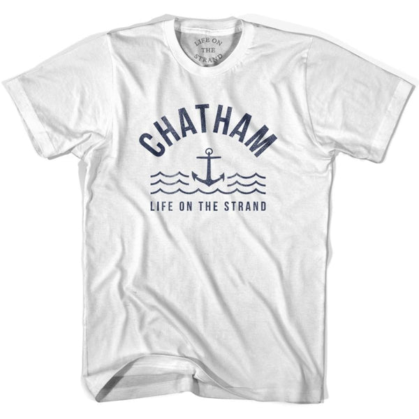 Chatham Anchor Life on the Strand T-shirt - White / Youth X-Small - Life on the Strand Anchor