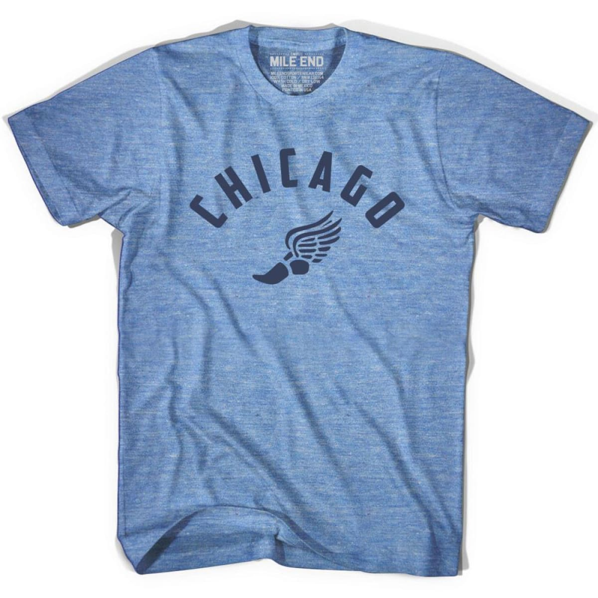 Chicago Track T-shirt - Athletic Blue / Adult X-Small - Mile End Track