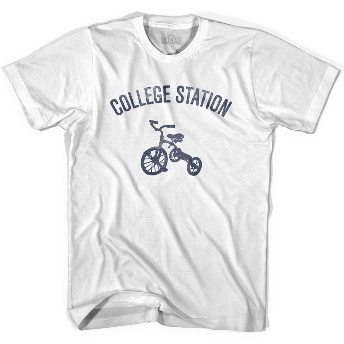 College Station City Tricycle Youth Cotton T-shirt - Tricycle City
