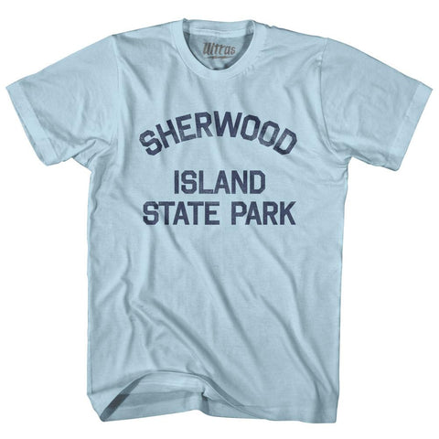 Connecticut Sherwood Island State Park Adult Cotton Vintage T-shirt by Ultras