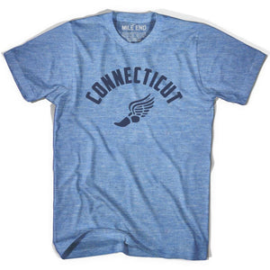 Connecticut Track T-shirt - Athletic Blue / Adult X-Small - Mile End Track