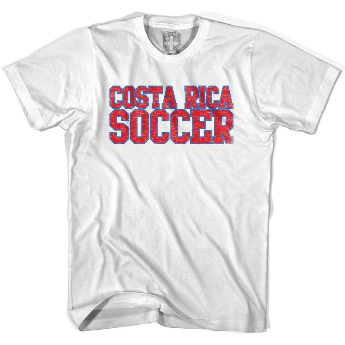 Costa Rica Soccer Nations World Cup T-shirt - White / Youth X-Small - Ultras Soccer T-shirts