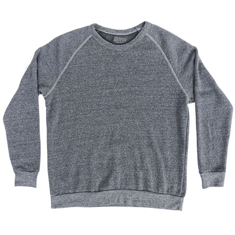 Blank Crewneck Adult Tri-Blend Sweatshirt