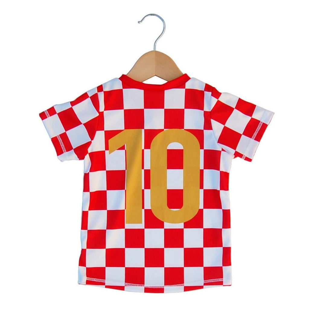 Croatia Checkerboard Soccer Jersey - Ultras Country Soccer Jerseys