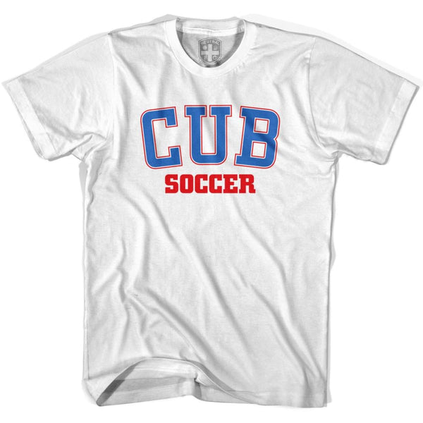 Cuba CUB Soccer Country Code T-shirt - White / Youth X-Small - Ultras Soccer T-shirts