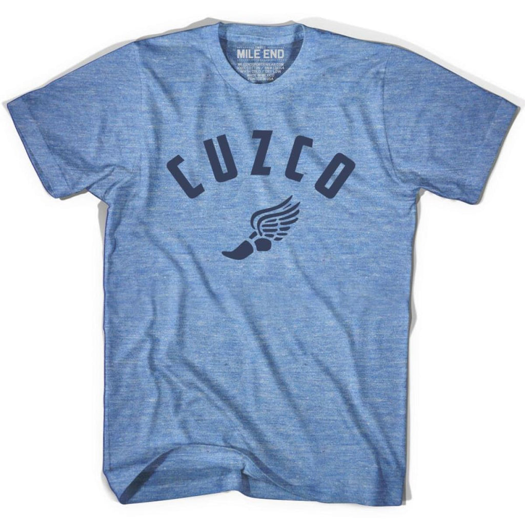 Cuzco Track T-shirt - Athletic Blue / Adult X-Small - Mile End Track