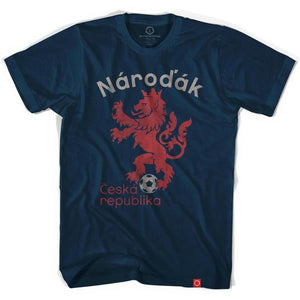 Czech Republic Narodak Lion Soccer T-shirt - Ultras Soccer Country T-shirts