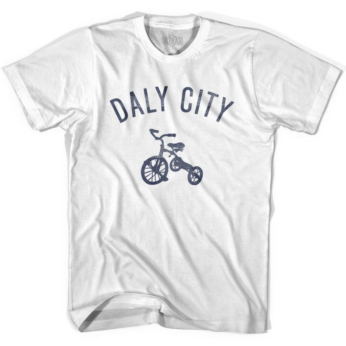 Daly City Tricycle Womens Cotton T-shirt - Tricycle City