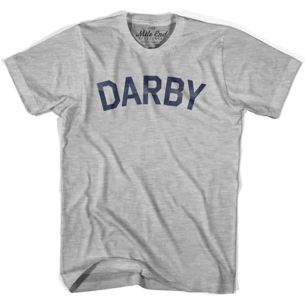 Darby City Vintage T-shirt - Grey Heather / Youth X-Small - Mile End City