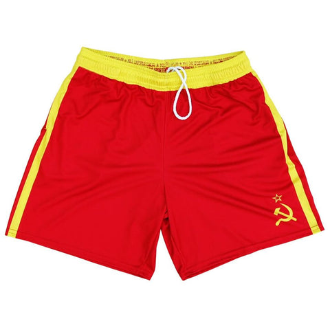 Drago Athletic Shorts - Red / Youth X-Small - Athletic Shorts