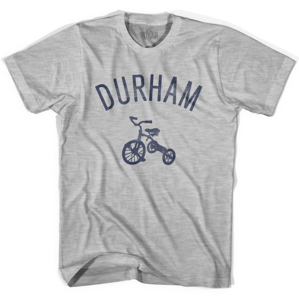 Durham City Tricycle Womens Cotton T-shirt - Tricycle City