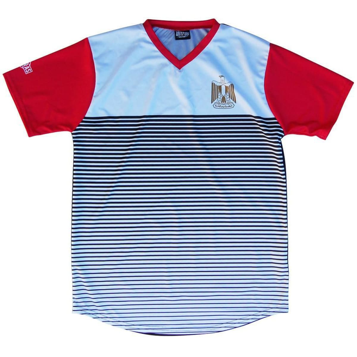 Egypt Rise Soccer Jersey - White / Toddler 1 / No - Ultras Country Soccer Jerseys