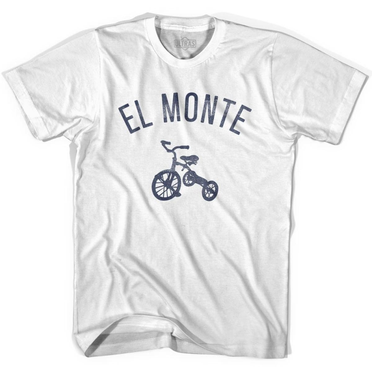 El Monte City Tricycle Womens Cotton T-shirt - Tricycle City