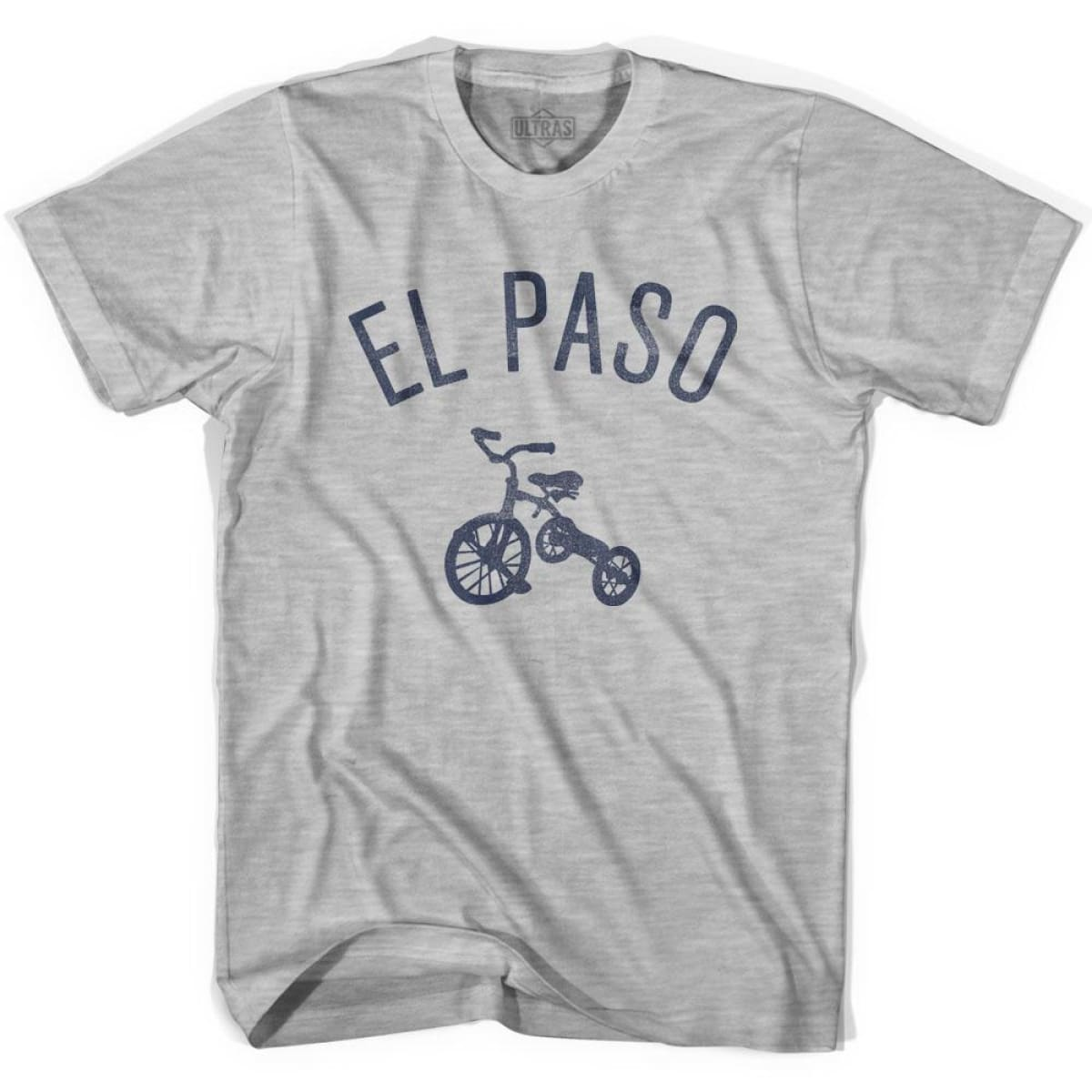 El Paso City Tricycle Womens Cotton T-shirt - Tricycle City
