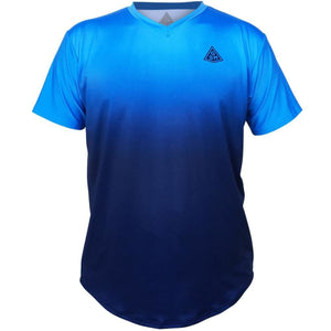 Endless GSM Tennis Shirt-Adult - LightBlue -Navy / Adult Small / No - Tennis Shirts