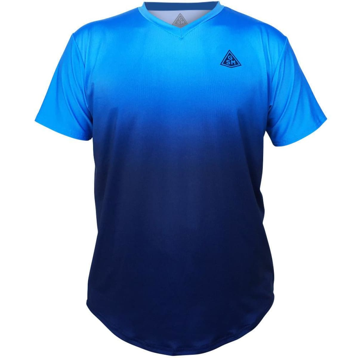 Endless GSM Tennis Shirt - LightBlue -Navy / Youth X-Small / No - Tennis Shirts