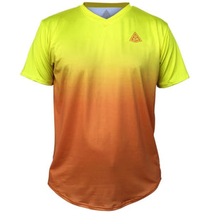 Endless GSM Tennis Shirt - Yellow-Orange / Youth X-Small / No - Tennis Shirts