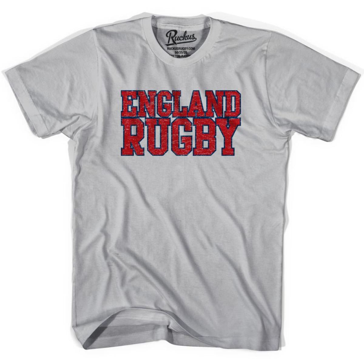 England Rugby Natons T-shirt - Cool Grey / Youth X-Small - Rugby T-shirt