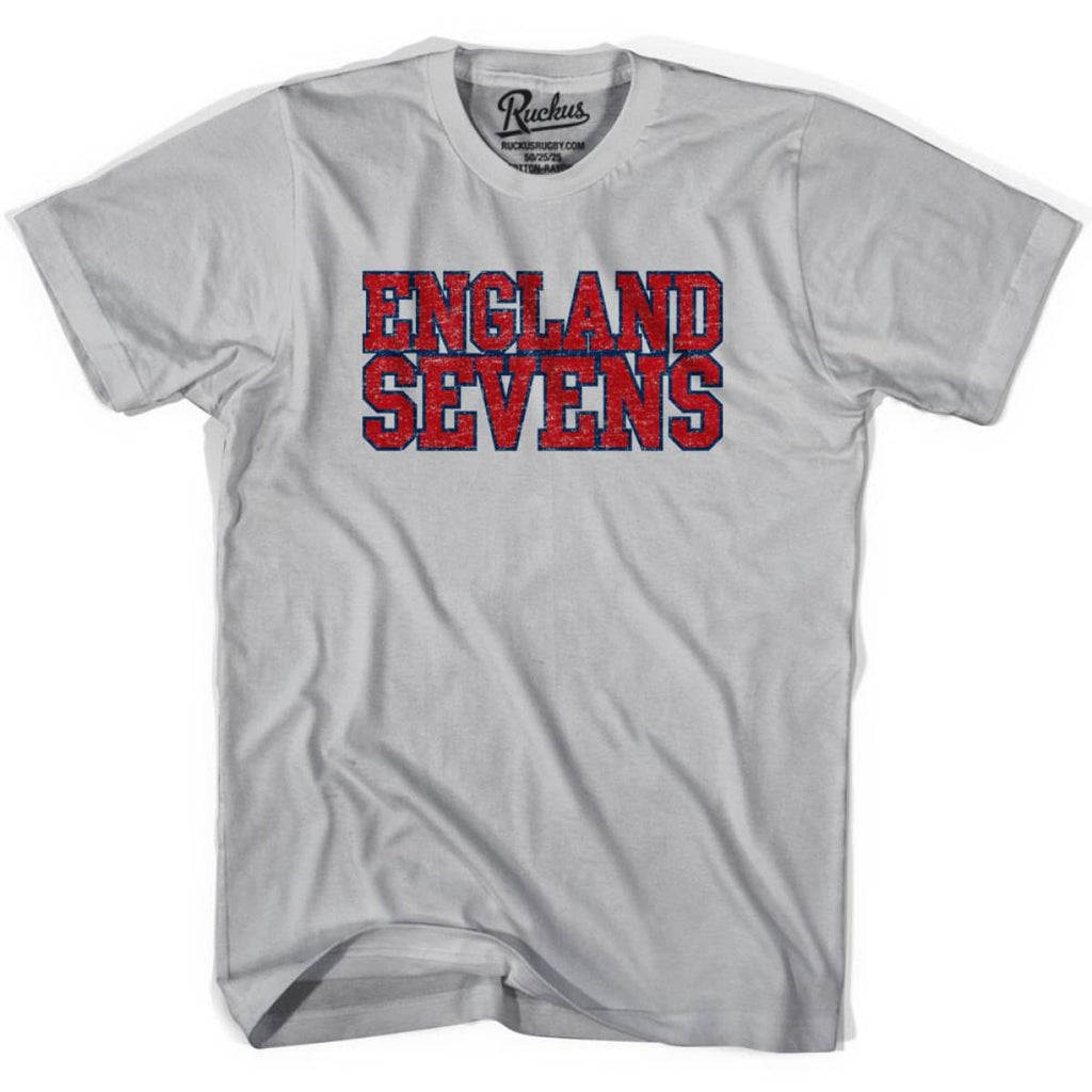 England Seven Rugby T-shirt - Cool Grey / Youth X-Small - Rugby T-shirt