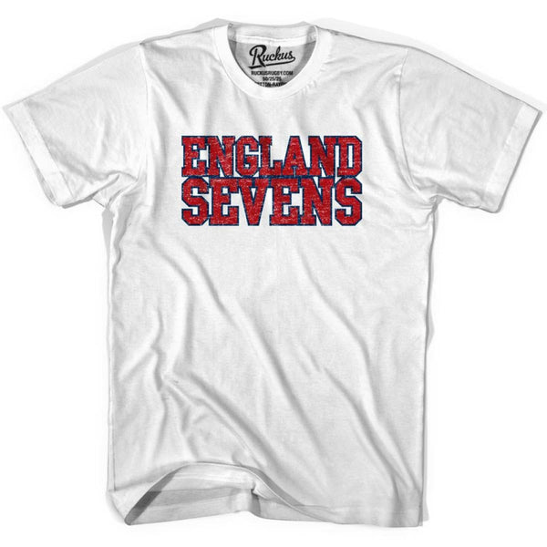 England Seven Rugby T-shirt - White / Youth X-Small - Rugby T-shirt