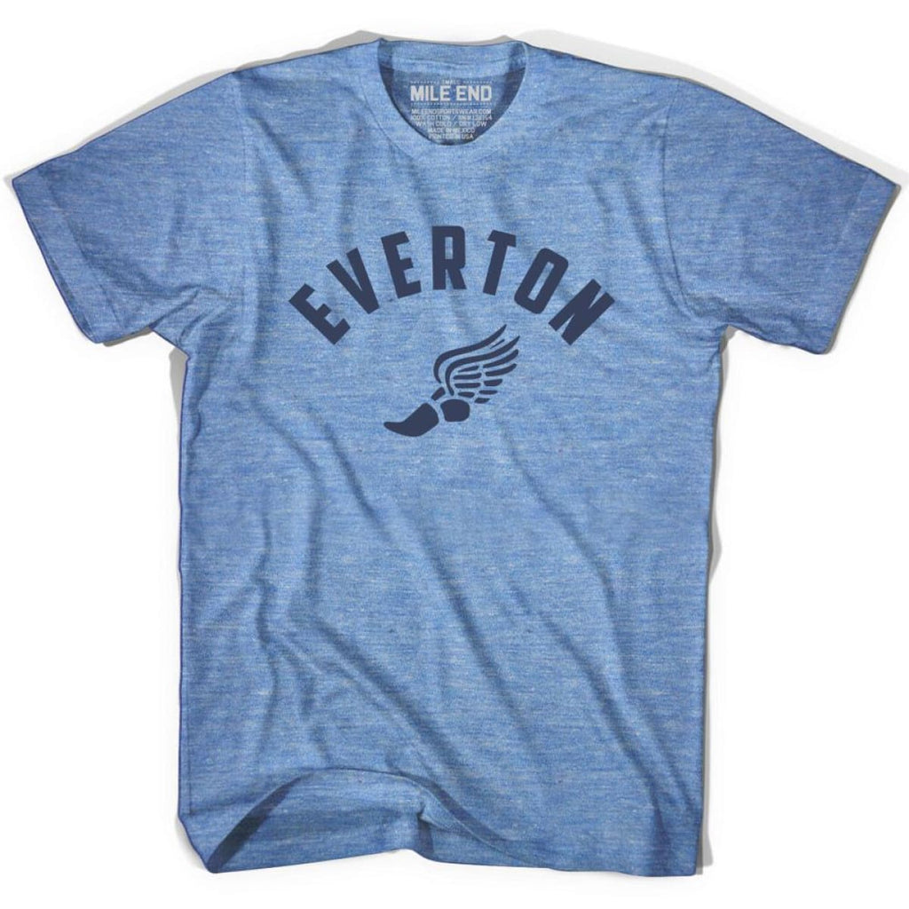Everton Track T-shirt - Athletic Blue / Adult X-Small - Mile End Track