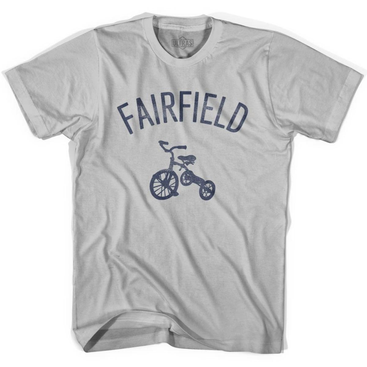 Fairfield City Tricycle Adult Cotton T-shirt - Tricycle City