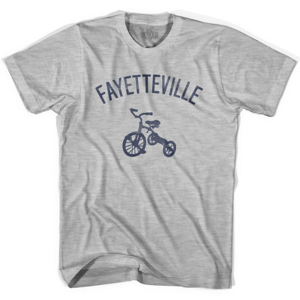 Fayetteville City Tricycle Womens Cotton T-shirt - Tricycle City