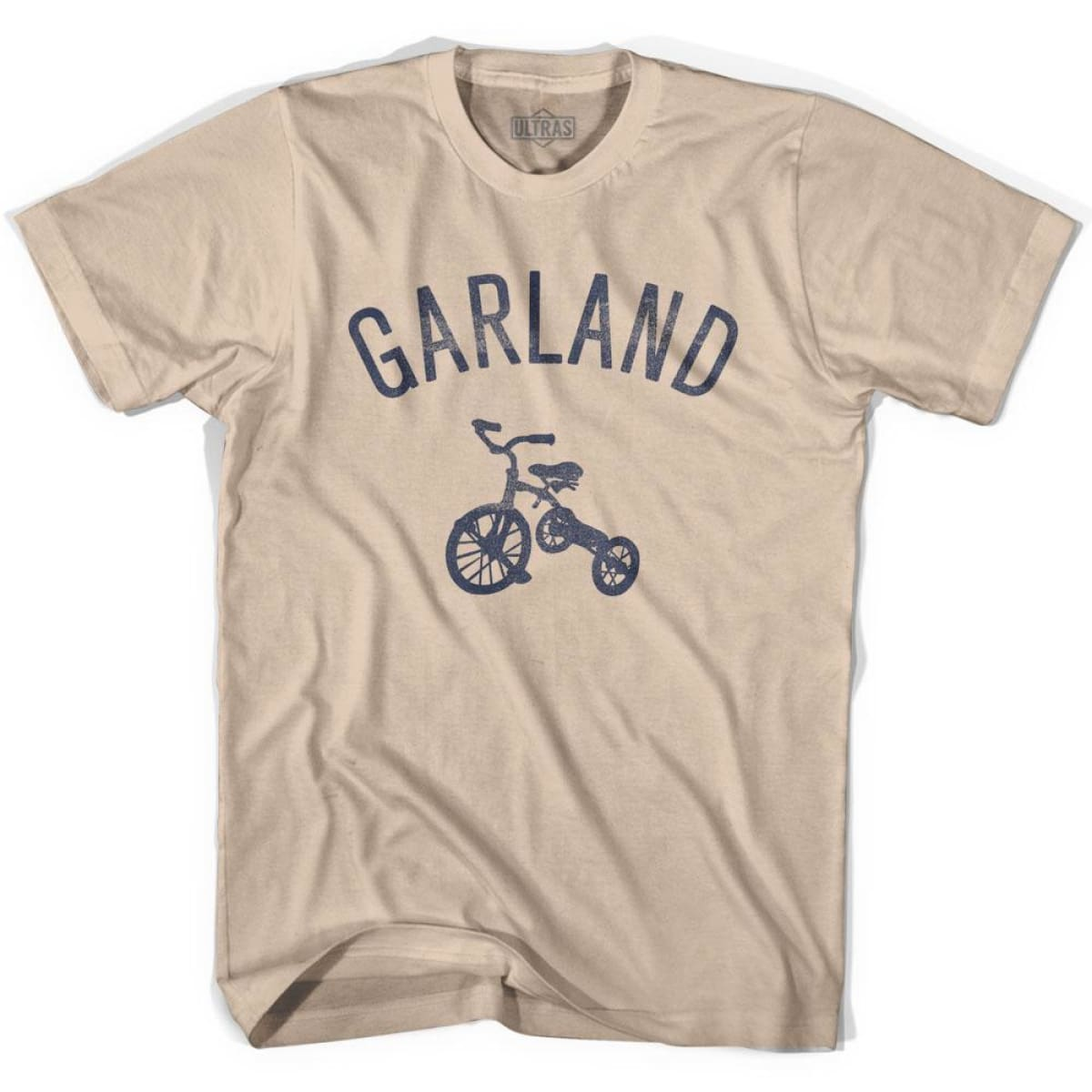 Garland City Tricycle Adult Cotton T-shirt - Tricycle City