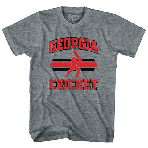 Ultras - Georgia 90's Cricket Team Tri-Blend Adult T-shirt