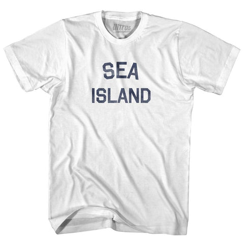Georgia Sea Island Adult Cotton Vintage T-shirt by Ultras