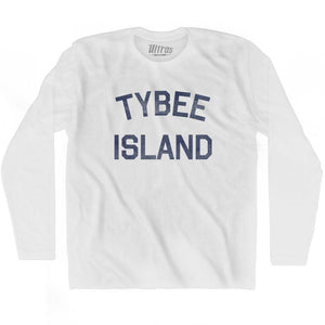 Georgia Tybee Island Adult Cotton Long Sleeve Vintage T-shirt by Ultras