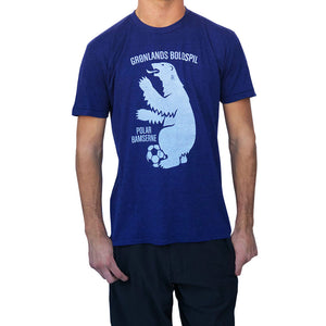 Greenland Polar Bear Soccer T-shirt