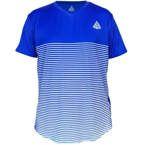 GSM Rise Tennis Shirt-Adult - Royal / Adult Small / No - Tennis Shirts