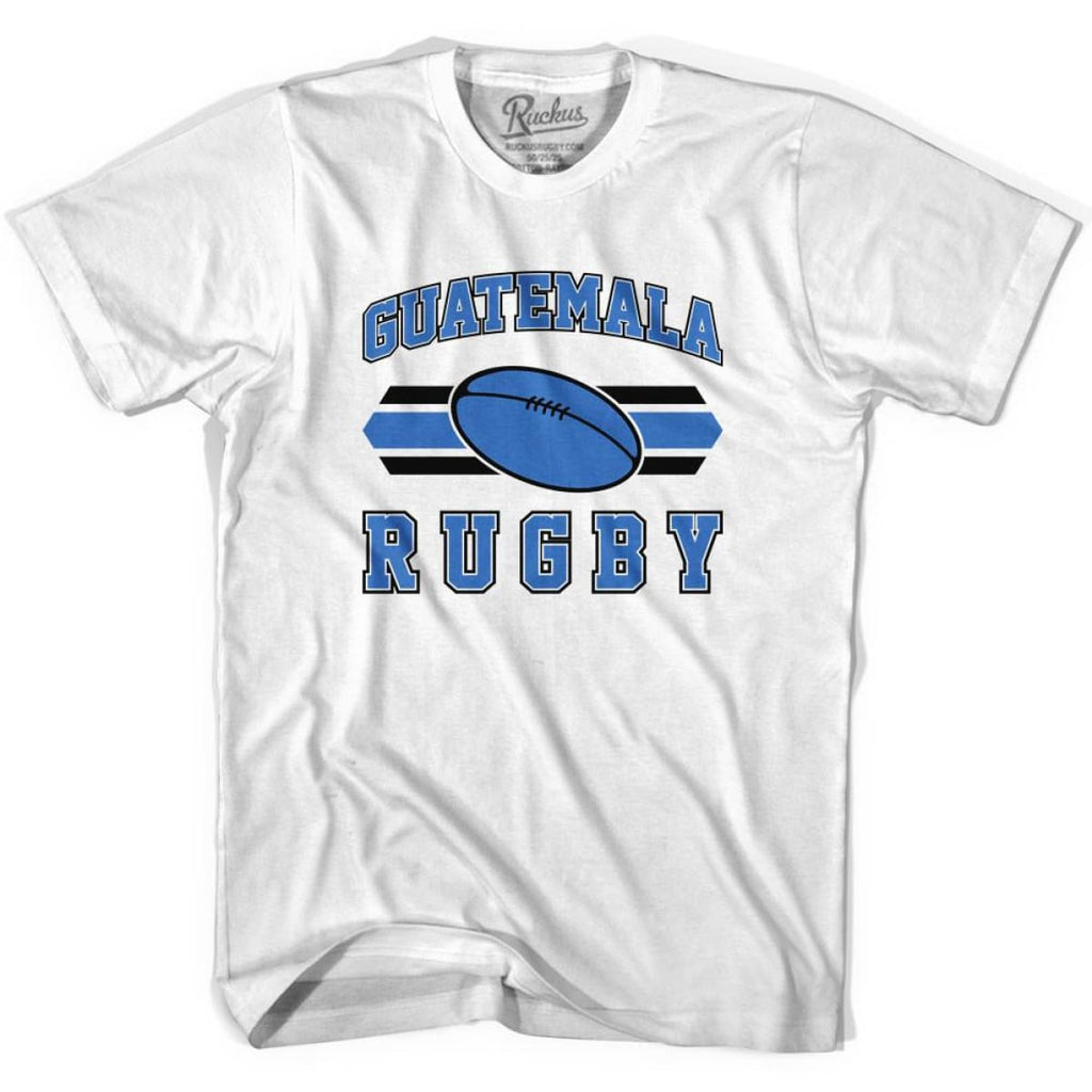 Guatemala 90s Rugby Ball T-shirt - White / Youth X-Small - Rugby Sevens
