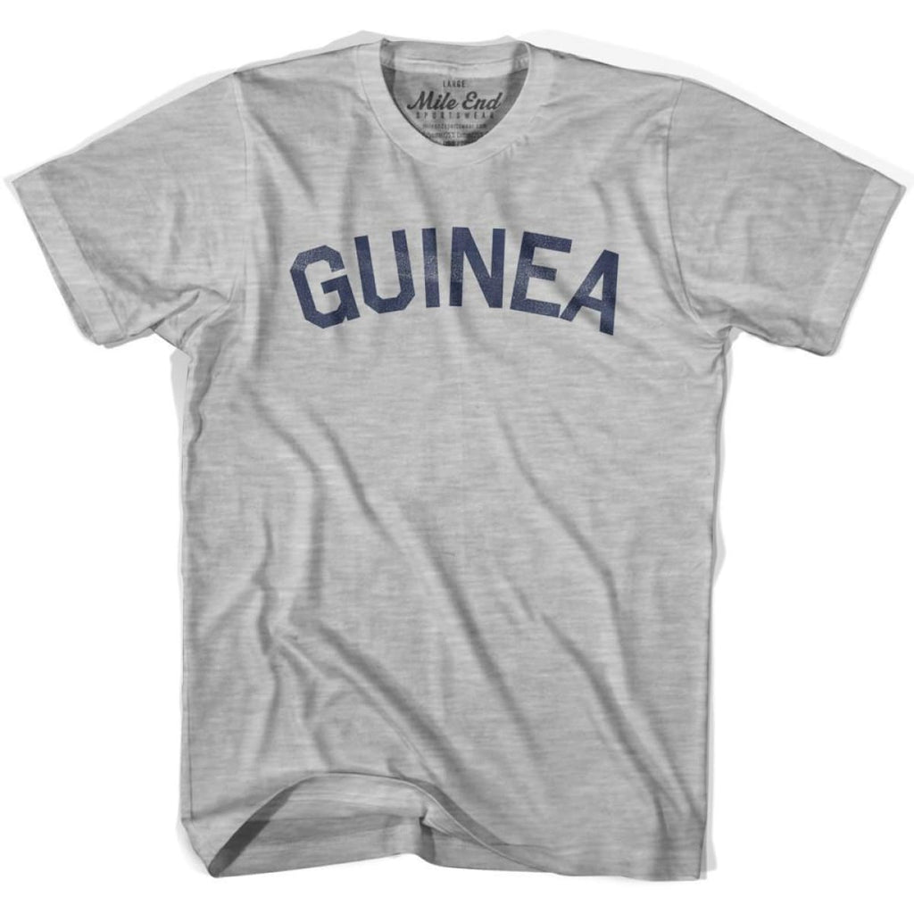 Guinea City Vintage T-shirt - Grey Heather / Youth X-Small - Mile End City