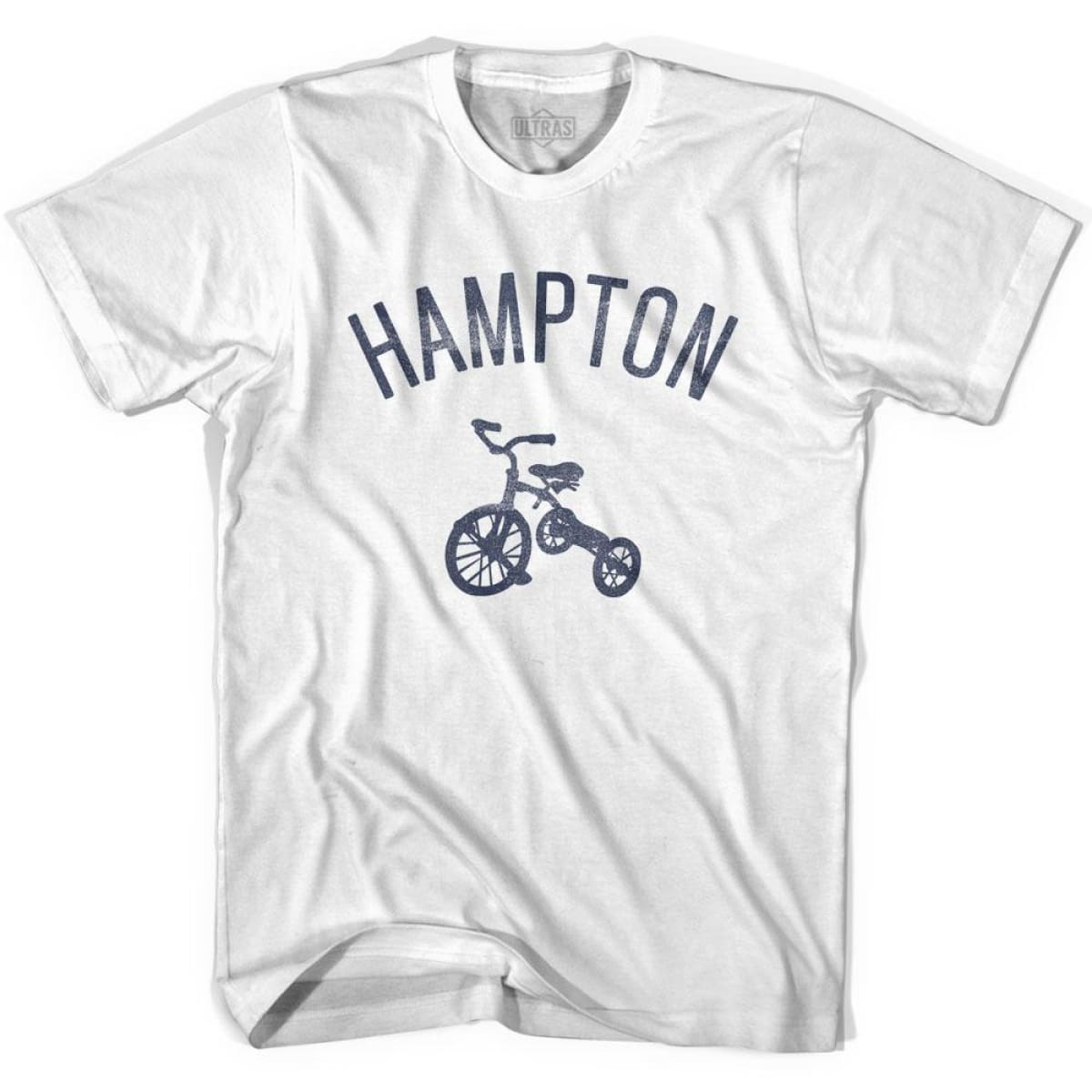 Hampton City Tricycle Womens Cotton T-shirt - Tricycle City