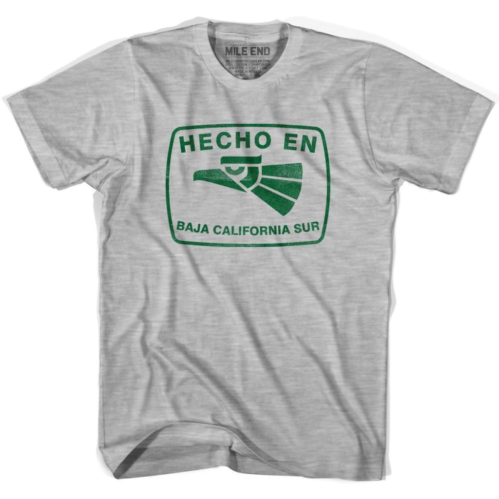 Hecho En Baja California Sur Vintage T-shirt - Grey Heather / Youth X-Small - Hecho En