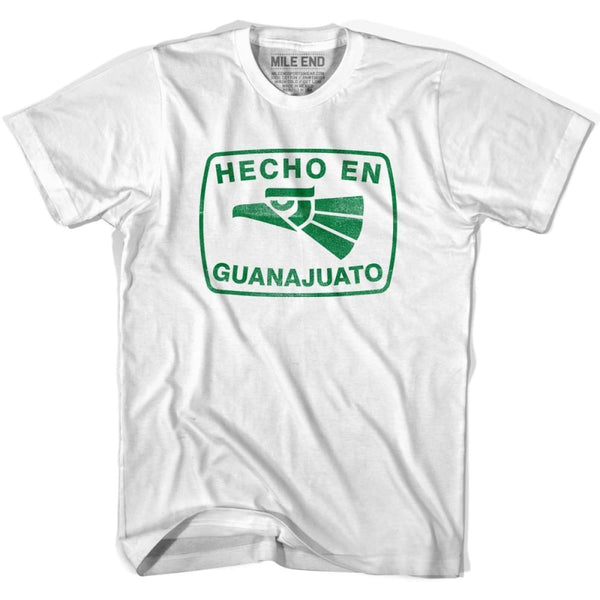 Hecho En Guanajuato Vintage T-shirt - White / Youth X-Small - Hecho En