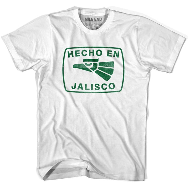 Hecho En Jalisco Vintage T-shirt - White / Youth X-Small - Hecho En