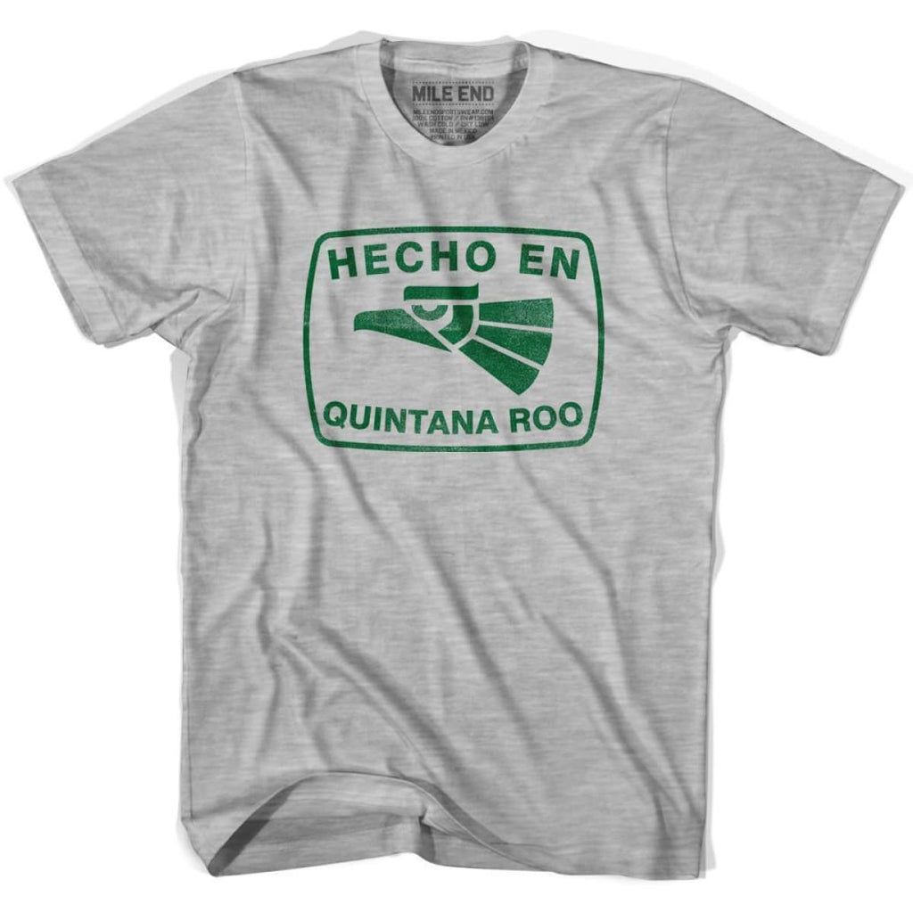 Hecho En Quintana Roo Vintage T-shirt - Grey Heather / Youth X-Small - Hecho En